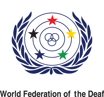 logo_wfdeaf Internasjonalt arbeid